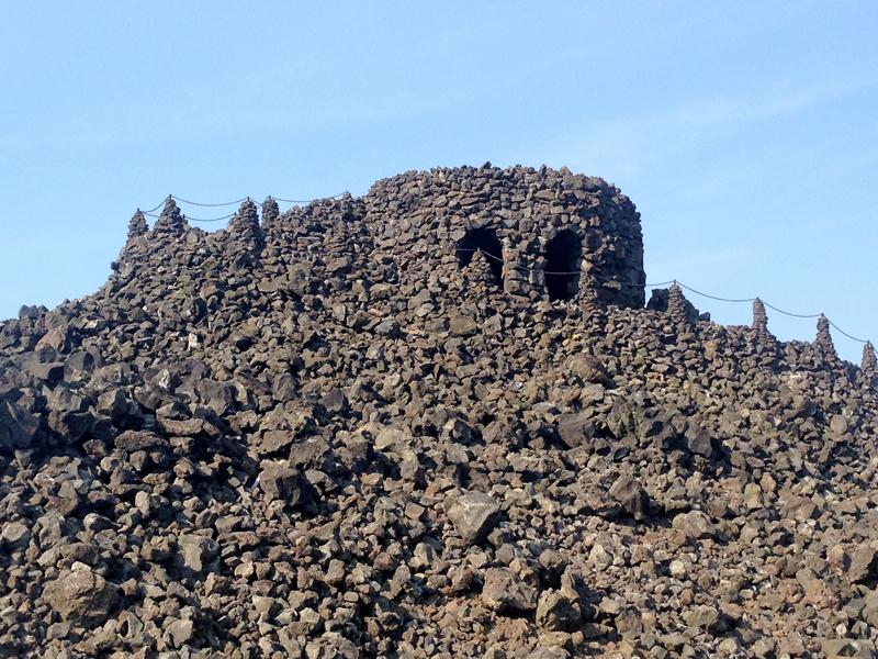 Observatory of rocks