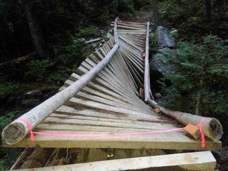 Another tortured bridge