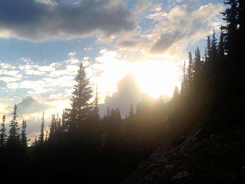 Mountain or cloud